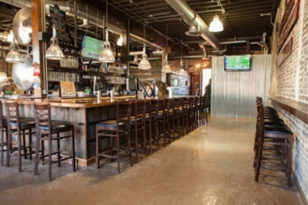 inside the taproom at Avondale Brewing Company