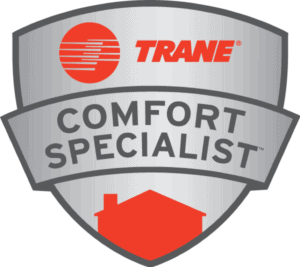 Trane badge - certified professional installation
